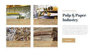 펄프 & 제지 산업 파워포인트