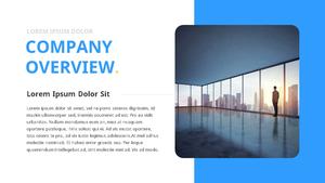 기업 보고서 (Business Report) 프리젠테이션 템플릿 #6