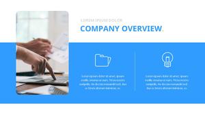 기업 보고서 (Business Report) 프리젠테이션 템플릿 #7