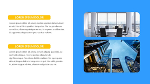 기업 보고서 (Business Report) 프리젠테이션 템플릿 #8