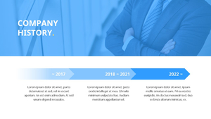 기업 보고서 (Business Report) 프리젠테이션 템플릿 #9