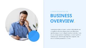 기업 보고서 (Business Report) 프리젠테이션 템플릿 #10