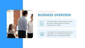 기업 보고서 (Business Report) 프리젠테이션 템플릿 #11