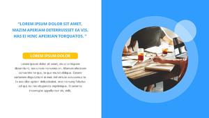 기업 보고서 (Business Report) 프리젠테이션 템플릿 #12