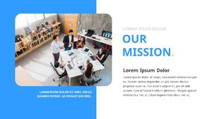 기업 보고서 (Business Report) 프리젠테이션 템플릿 #13