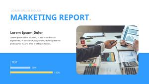 기업 보고서 (Business Report) 프리젠테이션 템플릿 #16