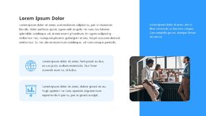 기업 보고서 (Business Report) 프리젠테이션 템플릿 #18