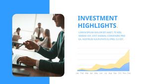 기업 보고서 (Business Report) 프리젠테이션 템플릿 #19