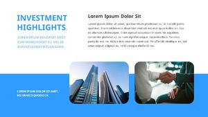 기업 보고서 (Business Report) 프리젠테이션 템플릿 #20