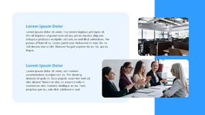 기업 보고서 (Business Report) 프리젠테이션 템플릿 #23