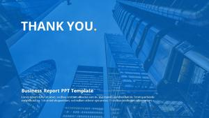 기업 보고서 (Business Report) 프리젠테이션 템플릿 #35