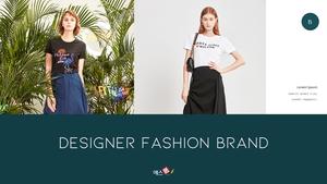 디자이너 패션 브랜드 Fashion Brand ppt