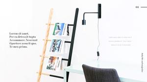 잡지 (Magazine) ppt 템플릿