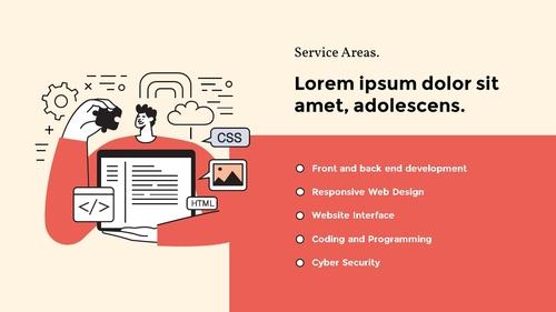 모바일 앱 & 웹 개발 에이전시 피치덱 - 섬네일 5page