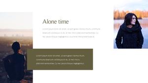 혼자만의 시간 파워포인트 PPT