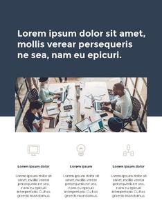 Business Plan 세로형 파워포인트