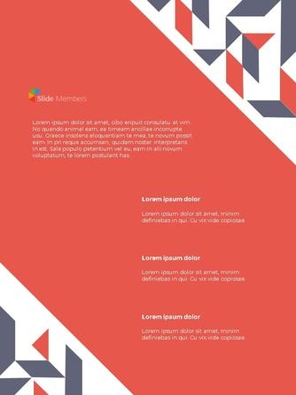 프로젝트 제안서 프레젠테이션 세로 템플릿 - 섬네일 25page