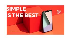 스마트폰 목업 월페이퍼 디자인 template #10