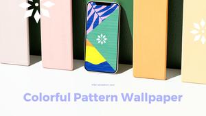 스마트폰 목업 월페이퍼 디자인 template #14