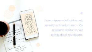 스마트폰 목업 월페이퍼 디자인 template #23