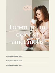 스위트 홈  Sweet Home 세로형 파워포인트(파워포인트>프리미엄 PPT>일반/기타) - 예스폼 쇼핑몰 #13