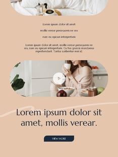 스위트 홈  Sweet Home 세로형 파워포인트(파워포인트>프리미엄 PPT>일반/기타) - 예스폼 쇼핑몰 #14