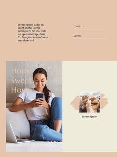 스위트 홈  Sweet Home 세로형 파워포인트(파워포인트>프리미엄 PPT>일반/기타) - 예스폼 쇼핑몰 #19