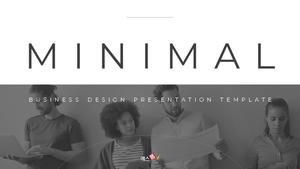 Minimal Buisiness 심플 템플릿(파워포인트>프리미엄 PPT>비즈니스/산업) - 예스폼 쇼핑몰 #1