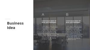Minimal Buisiness 심플 템플릿(파워포인트>프리미엄 PPT>비즈니스/산업) - 예스폼 쇼핑몰 #14