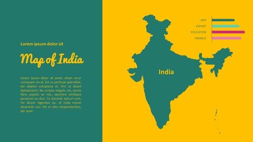 인도 여행 (India) 프레젠테이션 - 섬네일 32page