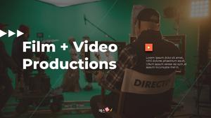 영화 & 비디오 프로덕션 피치덱 #1