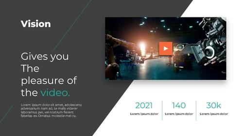 영화 & 비디오 프로덕션 피치덱 - 섬네일 3page