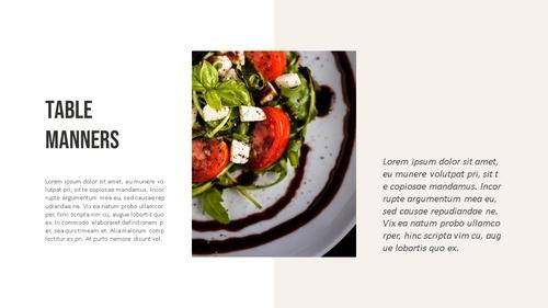 테이블 매너 (Table Manners) 파워포인트 - 섬네일 2page
