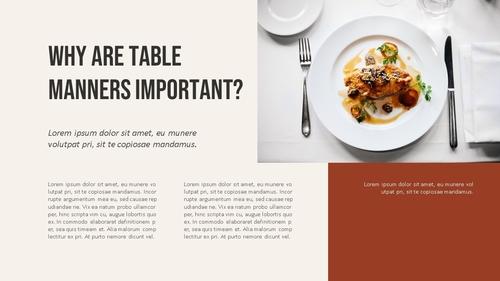 테이블 매너 (Table Manners) 파워포인트 - 섬네일 3page