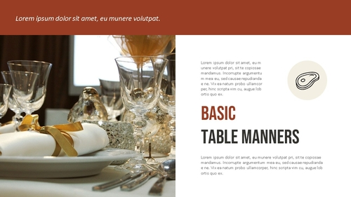 테이블 매너 (Table Manners) 파워포인트 - 섬네일 4page