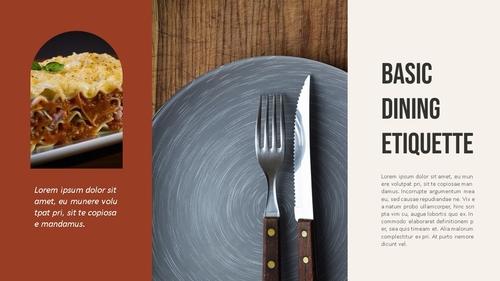 테이블 매너 (Table Manners) 파워포인트 - 섬네일 6page