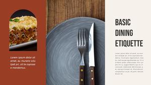 테이블 매너  Table Manners 파워포인트(파워포인트>프리미엄 PPT>사회/문화) - 예스폼 쇼핑몰 #6