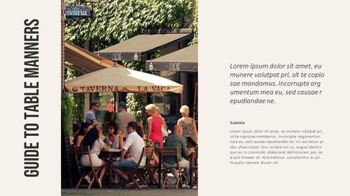 테이블 매너 (Table Manners) 파워포인트 - 섬네일 7page
