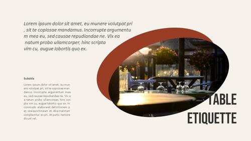 테이블 매너 (Table Manners) 파워포인트 - 섬네일 9page