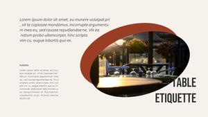 테이블 매너  Table Manners 파워포인트(파워포인트>프리미엄 PPT>사회/문화) - 예스폼 쇼핑몰 #9