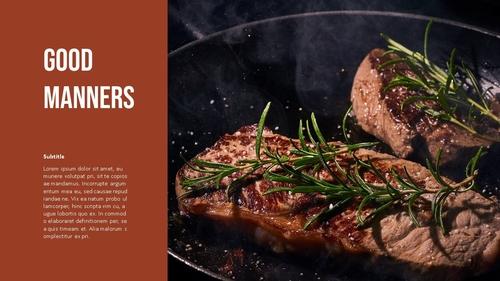 테이블 매너 (Table Manners) 파워포인트 - 섬네일 12page