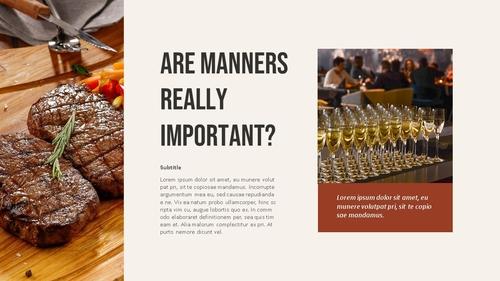 테이블 매너 (Table Manners) 파워포인트 - 섬네일 13page