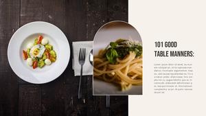 테이블 매너  Table Manners 파워포인트(파워포인트>프리미엄 PPT>사회/문화) - 예스폼 쇼핑몰 #16