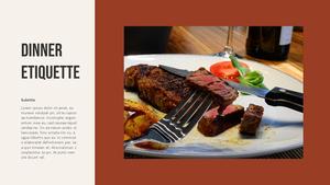 테이블 매너  Table Manners 파워포인트(파워포인트>프리미엄 PPT>사회/문화) - 예스폼 쇼핑몰 #20