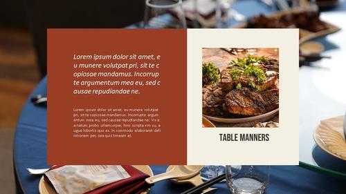 테이블 매너 (Table Manners) 파워포인트 - 섬네일 22page
