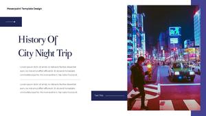 씨티 야경 투어 (City Night Trip) 16:9 ppt #3