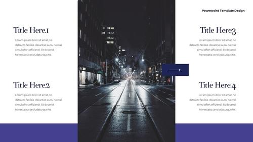 씨티 야경 투어 (City Night Trip) 16:9 ppt - 섬네일 8page