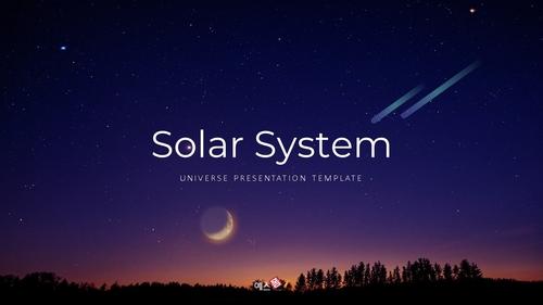 태양계 (Solar System) 프레젠테이션 - 섬네일 1page