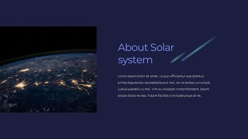 태양계 (Solar System) 프레젠테이션 - 섬네일 2page