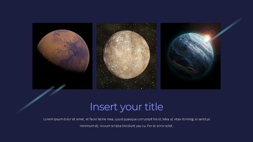 태양계 (Solar System) 프레젠테이션 - 섬네일 5page